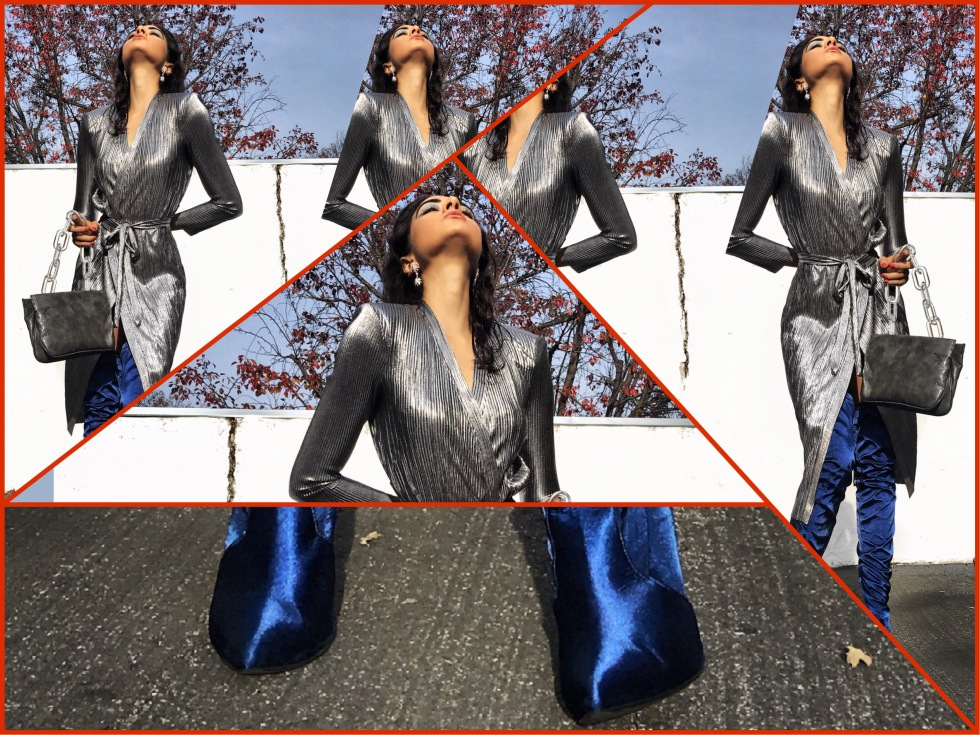 Zara Dress, Zara Daily, OOTN, 2018 Goals, Fashion Blogger Italia, How to wear metallic, #Ltkunder100, Like to Know it, Over the knee boots, Winter style 2018, January 2018 style, 2018 resolutions, silver dress, cocktail dress, Fashion Blogger De, Bloggeuse, Paris, San Francisco Fashion, Zara Addicted, Zara Obsessed, Zara TRF, Zara Daily, Zara_daily, Paris Street Style, Asha Raval