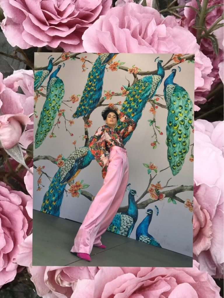 Spring Look Book 2018, Pink Monochrome OOTD, Pink Suit Spring 2018, Fashion Trends 2018, H&M Conscious 2018, H&M Trend, Spring Trends Look Book, Asha Raval, Best Fashion Blog 2018