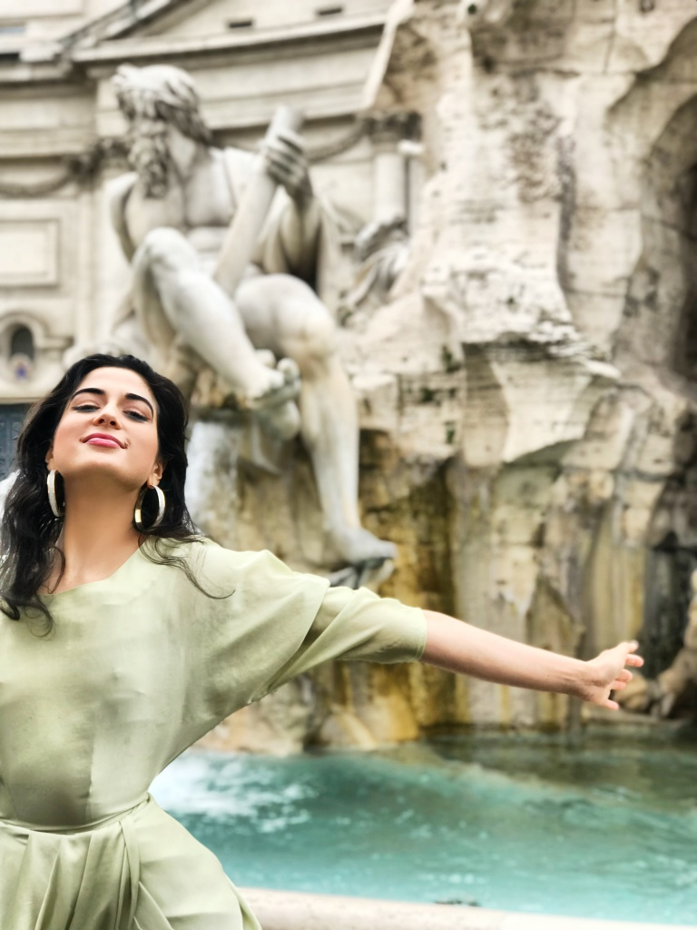 Where to Stay, Eat, and Watch the Sunset in Rome, Spring Fashion 2018, H&M Style, H&M Trend, Spring Fashion2018, Italian it Girl, Vogue Italia, Piazza Popolo, Rome Italy, Roma, Trevi Fountain, Asha Raval, italian fashion blogger, Best Fashion instagram Italy, Vogue Italia