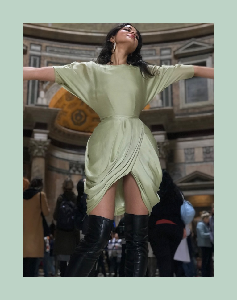 Where to Stay, Eat, and Watch the Sunset in Rome, Spring Fashion 2018, H&M Style, H&M Trend, Spring Fashion2018, Italian it Girl, Vogue Italia, Piazza Popolo, Rome Italy, Roma, Trevi Fountain, Asha Raval, italian fashion blogger, Best Fashion instagram Italy, Zara Boots, Zara Fashion