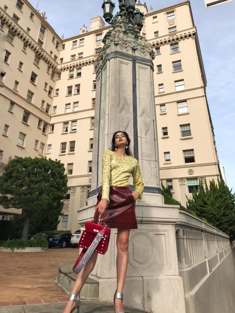 Spring Fashion Editorial 2018, Egg yolk Yellow trend fashion 2018, Spring fashion 2018, Fashion week 2018, SF Blogger, San Francisco Fashion Blog, Asha Raval, Nob Hill 2018, Pearl Trend Fashion 2018, H&M Spring 2018, San Francisco Brunch Guide, Nob Hill Cafe, Nob Hill Brunch Guide, SF Travel Guide