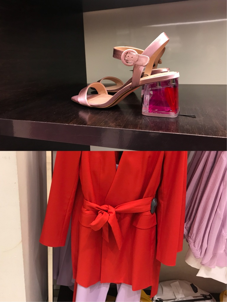 Zara SS18, Lavender and Red SS18 OOTD, Spring 2018 Color Combinations, Fashion Trends SS18, Zara 2018 Trends