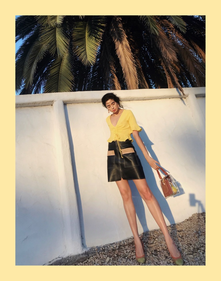 Lemon Fashion Editorial, Ms Coffee and Cream Blog, Forever 21 Summer 2018, Summer Trends 2018, Yellow OOTD 2018, Summer OOTD, Real Outfit Gram, Asha Raval, Italian Fashion Blogger 2018, Best Fashion instagram 2018, Fashion Post, How to Wear Crop Tops 2018, What to Wear this Summer 2018, PVC Bag Trend 2018, San Francisco Fashion Blogger, Parisian Style, Bella Italia 2018, NYX Cosmetics, Editorial Fashion 2018, Fashion Editorial 2018
