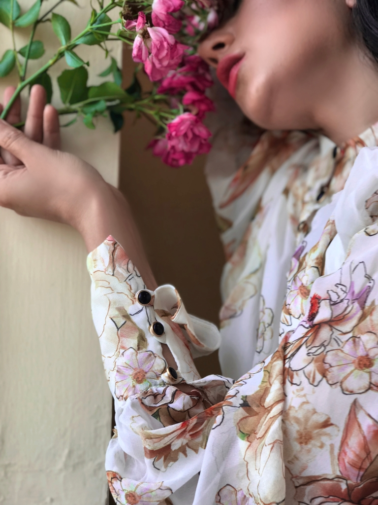 Gabrielle Dress by Vanessa Lynne, Vanessa Lynne Designs, Made in San Francisco, SF Blogger, SF Fashion Blogger, How to wear a floral maxi dress SS18, S18, Feminine Style, Fashion Blogger Style, Asha Raval, What to Wear to a Wedding this summer, What to wear Summer 2018